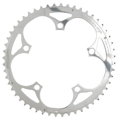 Compact Double Crank Set 48 34 Chainrings Silver