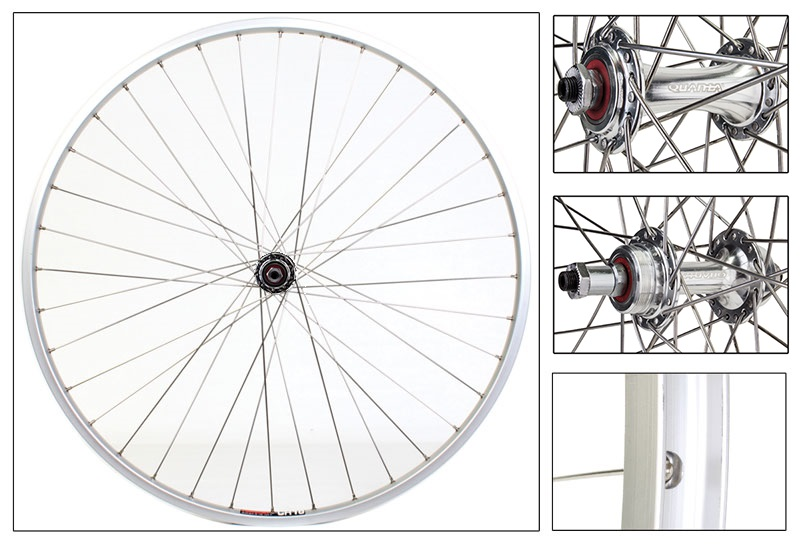 WE937 Picture shows components only. Actual item is built wheel set.