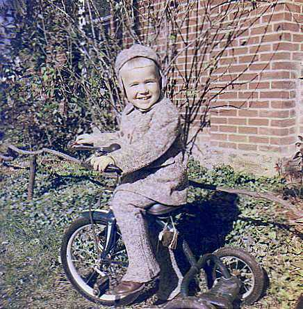 Brother jim on a delta tricycle