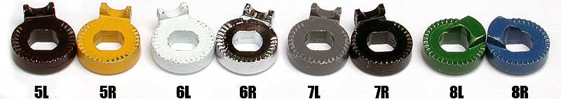 anti-rotation washers