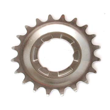 Sprocket for narrower chain